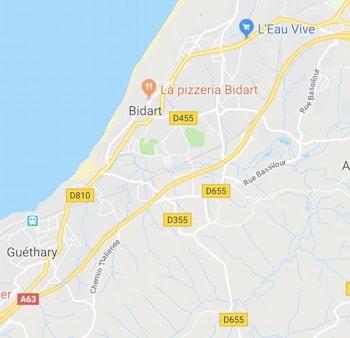 Élagage à Bidart et Guéthary
