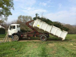 Retrait des déchets vers - Saint Jean de Luz