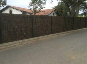Pose de clôtures