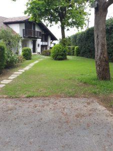 Jardin près de Bayonne, après la création