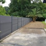 Pose de clôture - palissade