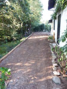 Jardin vers Bidart, après création