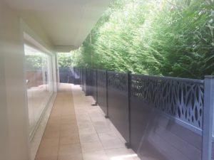 Création d'une palissade pour une maison près de Biarritz